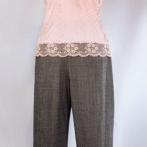 Dana Buchman Pants - Dana Bachman gray wool pants.